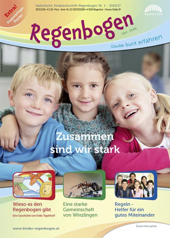 Kinderzeitschrift Regenbogen erfindet sich neu | Kath ...